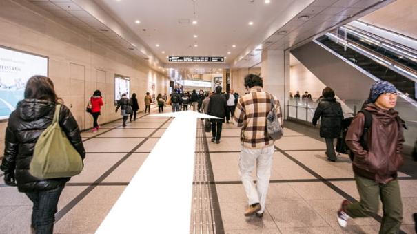 阪急百貨店屋内通路